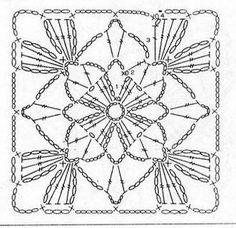 Схемы вязания мотивов – 480 фотографий