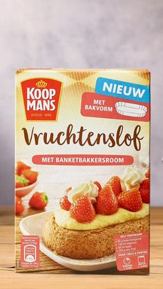 Dutch Recipes, Baking Recipes, Sweet Recipes, Bruchetta Recipe, Vers Fruit, Good Food, Yummy Food, Butterfly Cakes, Homemade Cakes