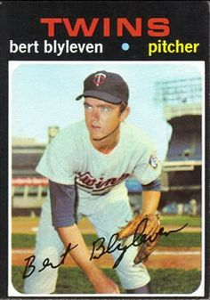 26 - Bert Blyleven RC - Minnesota Twins