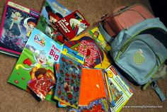 Flying with Kid - Pack a Surprise Bag for the Plane - List of ideas for what to include