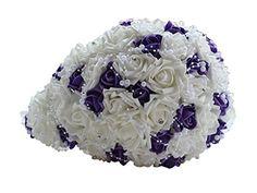 Bouquet de Rose Violette et Blanc Bouquet de mariee forme... https://www.amazon.fr/dp/B01FQOALQ2/ref=cm_sw_r_pi_dp_lSLqxbW1QAQAG