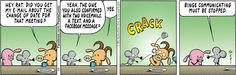 Today on Pearls Before Swine - Comics by Stephan Pastis Non Sequitur, Calvin And Hobbes, Funny Comics, Comic Strips, Make Me Smile, Workplace, I Laughed, Digital Marketing, Social Media