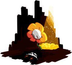 Undertale) Flowey on Pinterest | Flowey The Flower, Your Best Friend ...