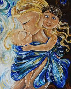 Babywearing artwork