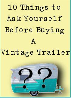 Rhonna DESIGNS: Vintage Trailer Refurb: Outside BEFORE & AFTER