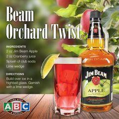 Jim Beam Apple Orchard Twist