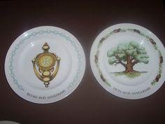 Vintage Avon Plates