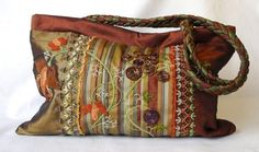 Rococo in Copper Bag I by atelierrococo on Etsy