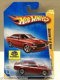 Mattel Hot Wheels Racing Stock Car - V-8 Vega This item is NOT in Mint Condition and is in no way being described as Mint or even Near Mint. Our toys have not always lead the perfect life, nor have th