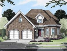COOL house plans offers a unique variety of professionally designed home plans with floor plans by accredited home designers. Styles include country house plans, colonial, Victorian, European, and ranch. Blueprints for small to luxury home styles. House Plans 3 Bedroom, Bungalow House Plans, House Plans And More, Best House Plans, Contemporary House Plans, Modern House Plans, Home Design Floor Plans, Monster House Plans, Country House Plans