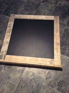 Large Chalk Board made from reclaimed pallet wood with shelf for your chalk