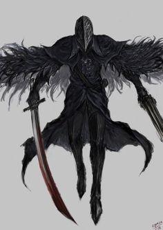 bloody crow of cainhurst High Fantasy, Dark Fantasy Art, Fantasy Artwork, Dark Art, Fantasy Character Design, Character Art, Bloodborne Art, Bloodborne Characters, Dark Souls Art