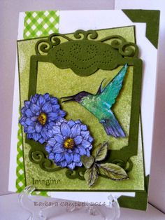 """Winner of the """"Thinking of Spring 2.0"""" Challenge - Barbara Campbell."""