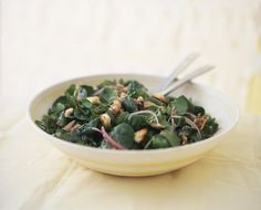 Make a Spinach Salad with Hot Bacon Dressing Tonight