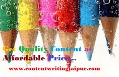 Quality Content Writers in Surat at a very affordable cost.  So always hire them form some recognized SEO company  in India who have a top class experienced Copy writers and offer the best of their services within a desired period of time by the Customers.