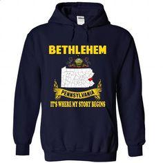 Bethlehem - Its where my story begin! (New Design) - #cute shirt #sweatshirt for women. ORDER HERE => https://www.sunfrog.com/No-Category/Bethlehem--Its-where-my-story-begin-New-Design-9522-NavyBlue-Hoodie.html?68278