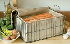 Storing Your Harvest: Root Vegetable Bins
