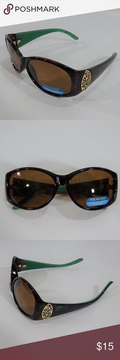 660076b44b Foster Grant Womens Polarized Sunglasses Brown Foster Grant Women s Polarized  Sunglasses Brown
