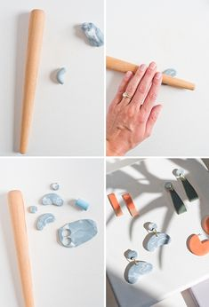 How to Make Clay Earrings + DIY Clay Jewelry Techniques