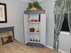 My old primitive pantry cabinet (Before Look) | My very own Home ...