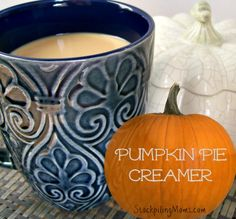 This Homemade Pumpkin Pie Creamer recipe is all natural and the flavor is delicious! Pumpkin Spice Creamer, Vanilla Coffee Creamer, Coffee Creamer Recipe, Homemade Pumpkin Puree, Canned Pumpkin, Pumpkin Recipes, Fall Recipes, Yummy Recipes, Bon Appetit