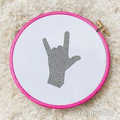 Endless-Ecostitch-Embroidery #EEE Stickdatei – Rockstar