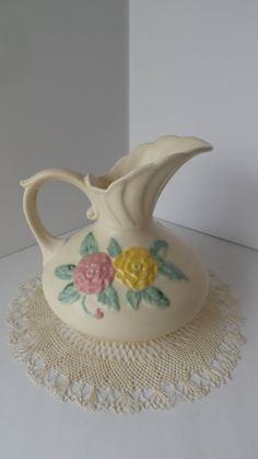 Collectibles Made In United States Vintage Hull Pottery With Duck Wings Open To Fly Art Pottery