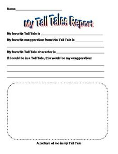 tall tale book report This an easy to fill out book report form for tall tales this would be great for a first time book report after reading several tall tales, have the student pick.