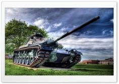 Tank HDR HD Wide Wallpaper for Widescreen