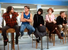 Clube dos Cinco (The Breakfast Club)  Dir.: John Hughes - 1985