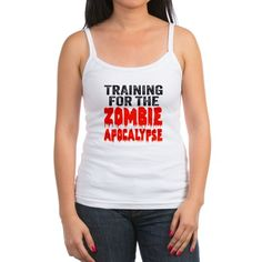 c5ecfadf61a7f Training For The Zombie Apocalypse Tank Top Halloween Gifts