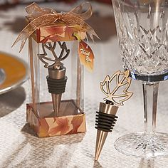 The perfect wedding favor gift for a autumn-theme wedding! Repin if you like it.