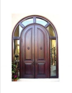 the front doors will be this exact style ... however ... they'll be painted a bright white ...