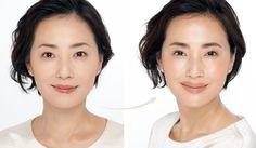 ラグジュアリーマガジン『Precious(プレシャス)』より、「メイクで『顔の余白』を埋めて、7歳若返る」をご紹介します。年齢とともに、顔筋の衰えや肌のたるみなどによって、顔はどうしても四角くのっぺりと間延びしてくるもの。でも、顔にできるそんな「余白」は、たった6つのテクニックで埋めることができるのです!今回は、「余白」埋めテク1【ベースメイク編】をお届けします。 Make Up, Hair Styles, Nail, Beauty, Hair Plait Styles, Hair Makeup, Makeup, Hairdos, Nails