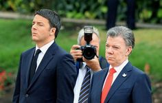 Na Colômbia, Renzi cita Gabo para defender 'sonhos' (foto: EPA)