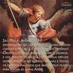 Oração a São Miguel Arcanjo.