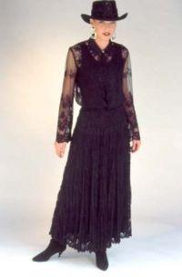 Special Occasion Black Lace Bodysuite