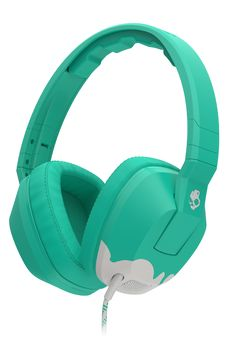 Skullcandy Crusher Headphones with Built-in Amplifier and Mic, Bunny Teal and Light Grey Skullcandy Headphones, Cute Headphones, Sports Headphones, Over Ear Headphones, Mobile Technology, Medical Technology, Energy Technology, Bass Amps, Headphone With Mic