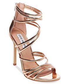 1c945cf63aa381 Steve Madden Women s Santi Strappy Sandals Schuhe Sandalen