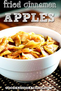 Do you have more apples than you know what to do with this season? This family favorite recipe for Fried Cinnamon Apples is an easy way to use your apples for a great weeknight treat. We love apple… Fruit Recipes, Apple Recipes, Fall Recipes, Snack Recipes, Dessert Recipes, Cooking Recipes, Snacks, Recipies, Yummy Recipes