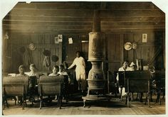 African American classroom with teacher in Henderson, KY circa 1916