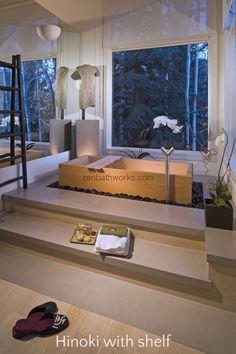 Zen Bathworks - Onsen 60 Ofuro Soaking Tub by Zen Bathworks, $7,700.00 (http://www.zenbathworks.com/onsen-60/)