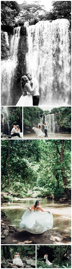 Intimate Costa Rica waterfall elopement. Photographed by Kristen M. Brown, Samba to the Sea Photography. Costa Rica wedding, Costa Rica wedding tips, Costa Rica wedding ideas, Costa Rica wedding photographer, Costa Rica wedding photography, Costa Rica wedding Guanacaste,  Costa Rica Wedding elope, Costa Rica elopement, waterfall Costa Rica, Llanos de Cortes Costa Rica, Costa Rica Waterfall Elopement, Costa Rica wedding waterfall