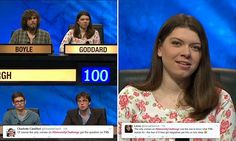 University Challenge male team bemused at tampon question