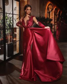 Long Sleeve Evening Dresses, Formal Evening Dresses, Evening Gowns, Couture Dresses, Women's Fashion Dresses, Event Dresses, Prom Dresses, Beautiful Dresses, Nice Dresses