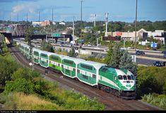 Net Photo: GOT 637 GO Transit (Greater Toronto Transit Authority) MPI at Pickering, Ontario, Canada by Craig Walker Location Map, Photo Location, Go Transit, Union Station, Bahn, Train Tracks, Locomotive, Ontario, Toronto