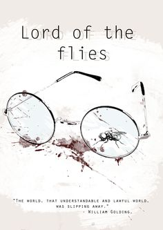 Lord of the flies, book cover concept.   By Amélie Kerslake.