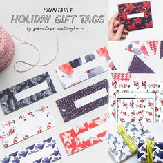 www.littlerugshop.com All week @penelope_dullaghan has been sharing free downloadable holiday goodies with us at DS. You can download all 5 (gift wrap banner gift card holder tech wallpaper gift tags) in the profile link above. Thanks Penelope!  by designsponge