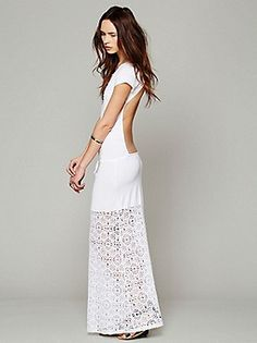 WOWZA! Nightcap Free People Clothing Boutique > Dreamcatcher Open Back Maxi Dress