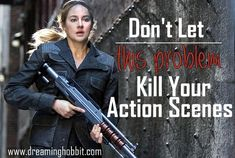 Action scenes can be awesome when they're done right... and super corny if they're not.  Here's some things to avoid!